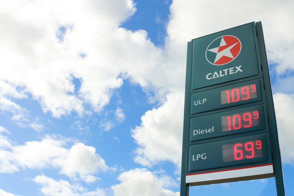 prix essence australie caltex