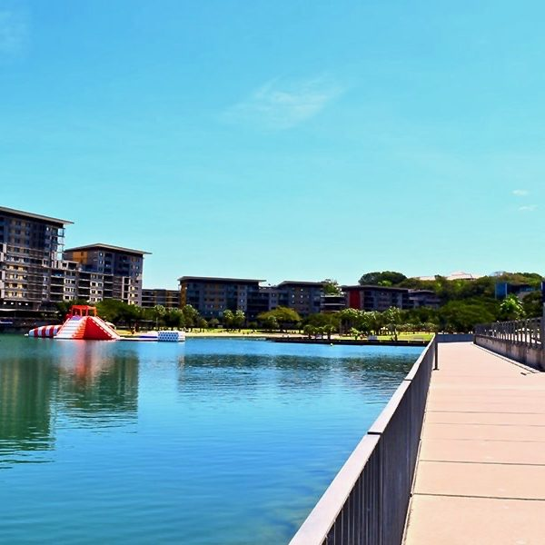 Darwin Waterfront Australie en van