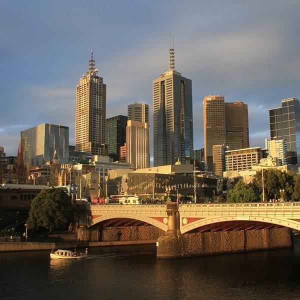 Melbourne Australie en Van
