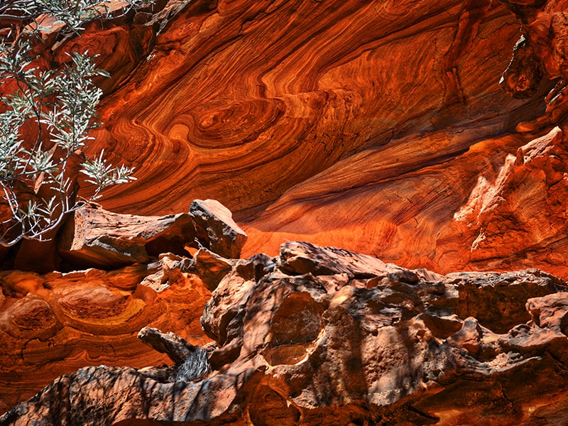Roche Kings Canyon Australie