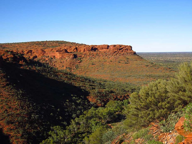 Vue Kings Canyon Australie