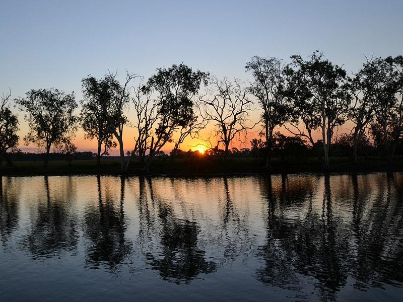 Yellow Water Kakadu Australie en Van