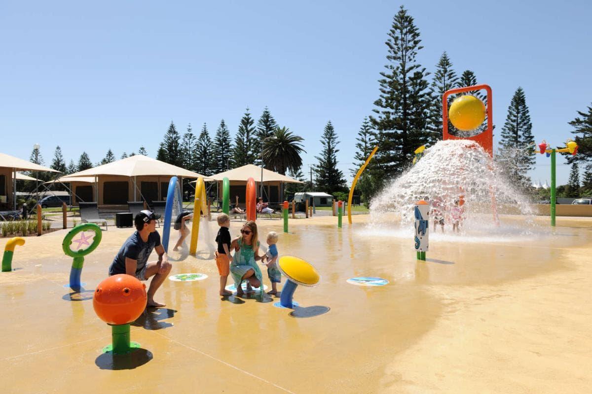 aire jeu camping-australie