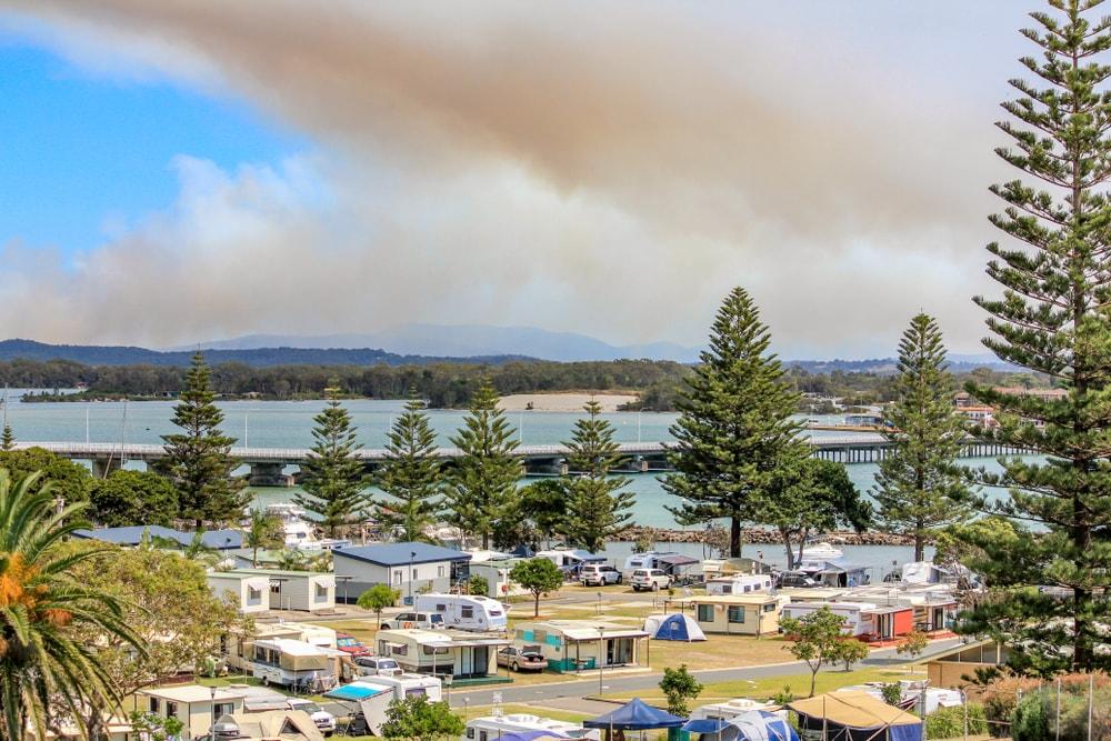 camping payant australie