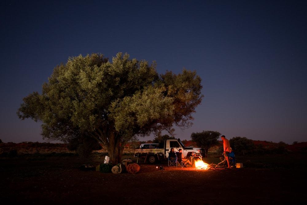 free camp australie