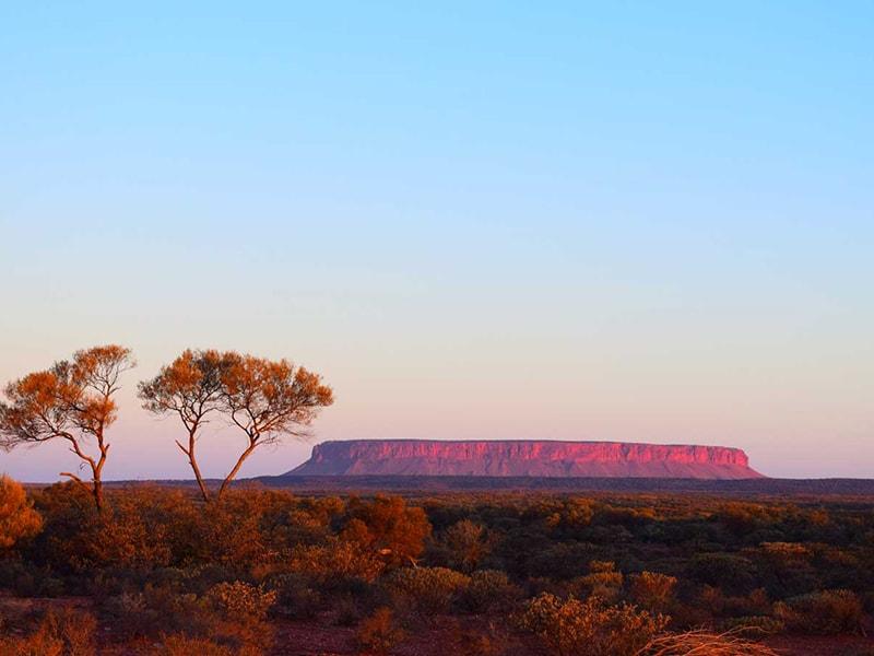 lever de soleil Uluru Australie