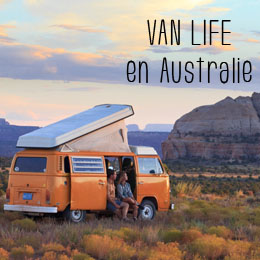 van life en australie