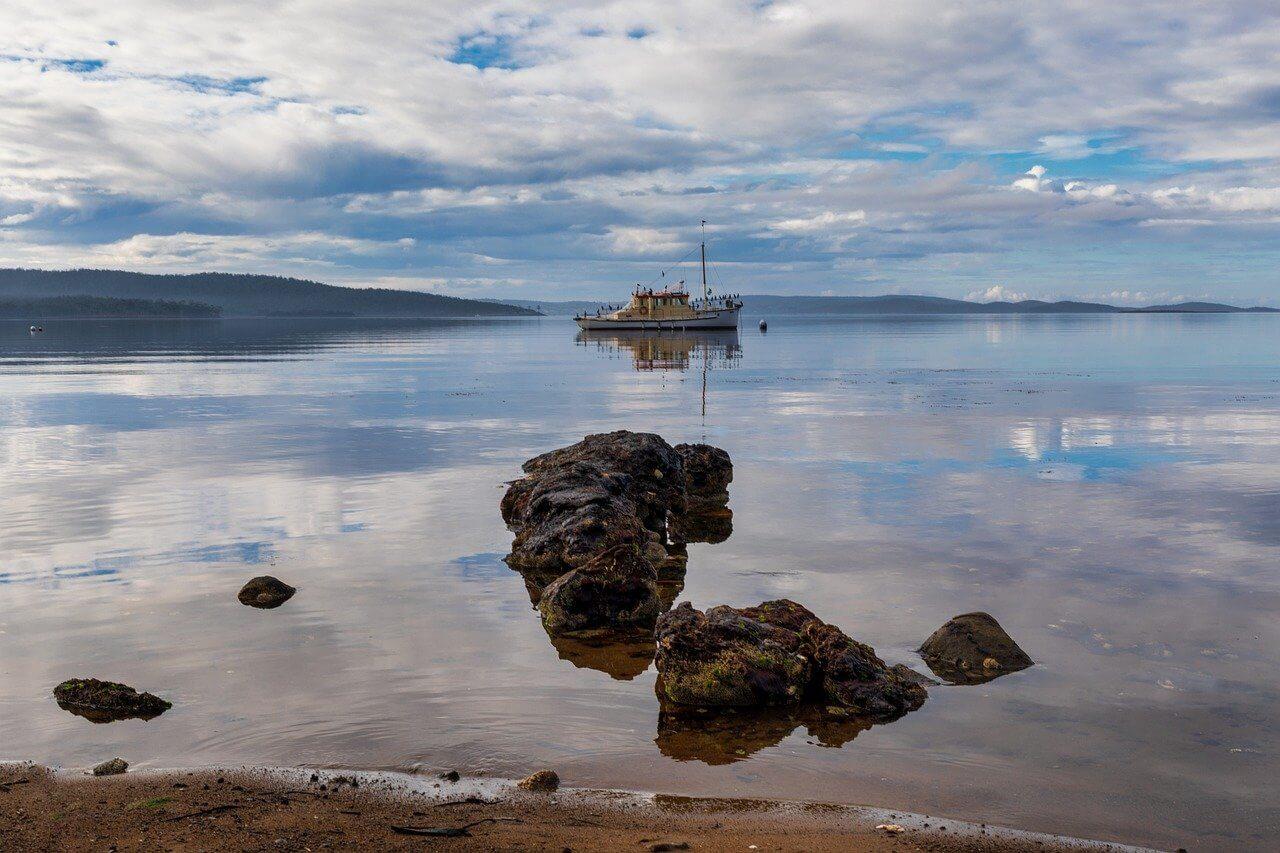 bateau ocean tasmanie australie