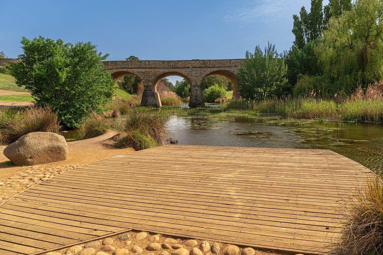 pont riviere tasmanie australie